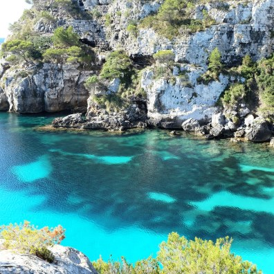 Cala Macarelleta-Minorque-plage-côte-sud