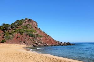 Cala Pilar-Minorque-plage-nord-côte