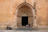 La cathédrale gothique Santa María de Ciutadella à Minorque
