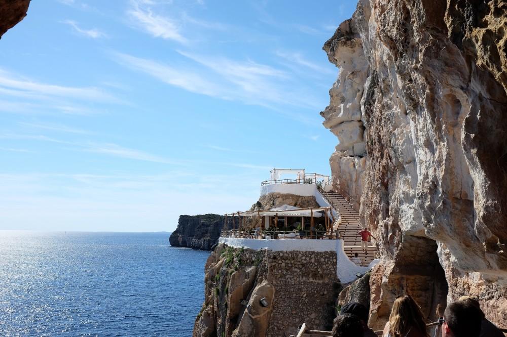 Cova d'en Xoroi-Minorque-Cala en Porter-bar-lounge-chill out