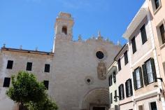 Mahón-Mahon-Minorque-capitale-ville-port-Méditerranée-église