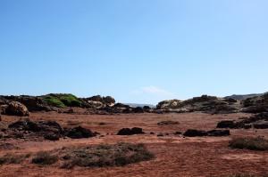 Cala Pregonda est une plage sur la côte nord de Minorque