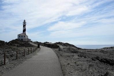 Le phare de Favàritx sur l'île de Minorque