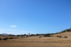 Paysages à l'intérieur de l'île de Minorque