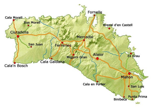 Minorque-île-archipel-Baléares