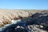 La côte déchiquetée de Punta Nati à l'ouest de Minorque
