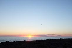 La côte ouest de l'île de Minorque