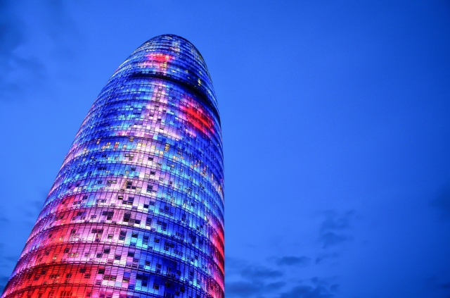 Torre Agbar-Jean Nouvel-gratte-ciel-Poblenou-tour
