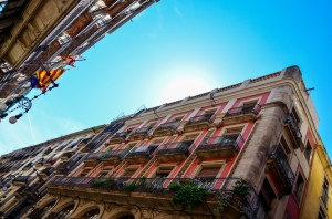 La rue Carrer Ferran de Barcelone