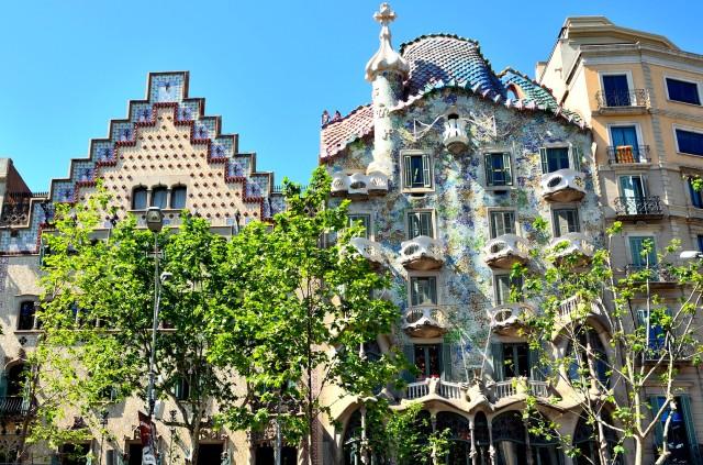 Casa Batlló-Casa Amatller-Barcelone-Eixample-Gaudí