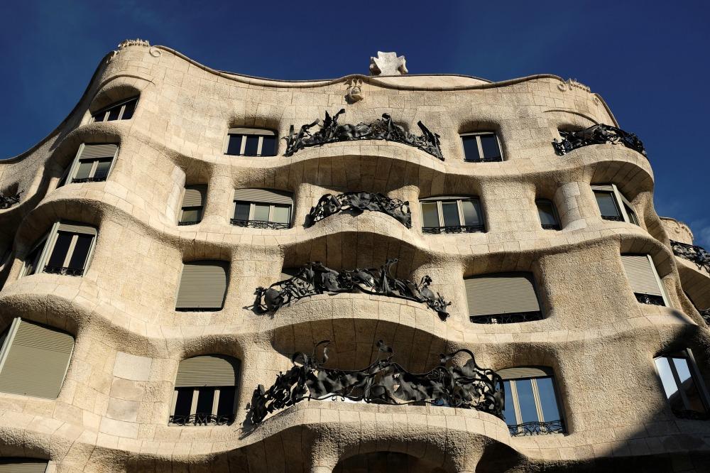Barcelone-La Casa Milà-la Pedrera-Eixample-Passeig de Gràcia