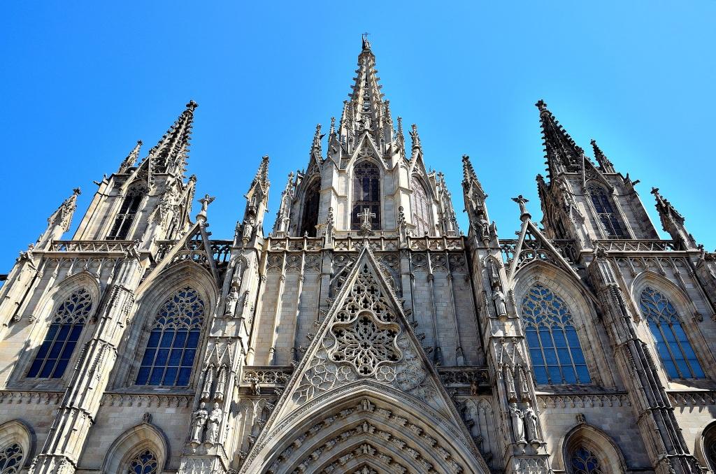 Barcelone-cathédrale-Seu-Barri Gòtic