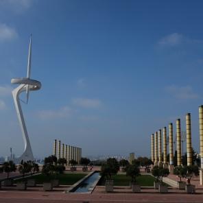 Barcelone a acceuilli les JO en 1992