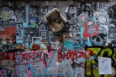 Street Art dans les rues de La Ribera
