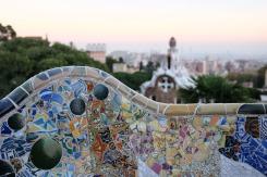 Les céramiques du Parc Güell