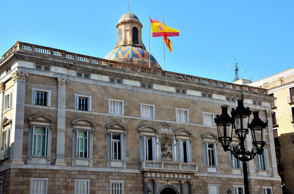 Barcelone-Plaça-Sant Jaume-Barri Gothic-place