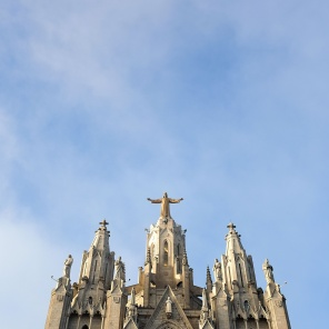 L'église Sagrat Cor de Tibidabo