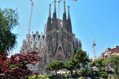 L'oeuvre de Gaudí, la Sagrada Família