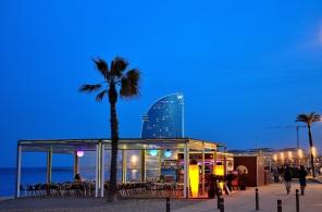 La Barceloneta et ses bars de plage
