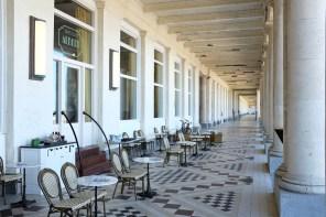 La brasserie Albert dans les galeries royales d'Ostende