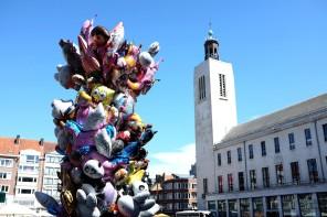 Le centre-ville d'Ostende