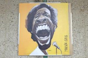 Un tableau de Marvin Gaye à Ostende