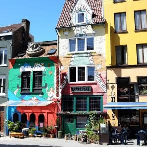 Le centre-ville d'Ostende et ses belles façades