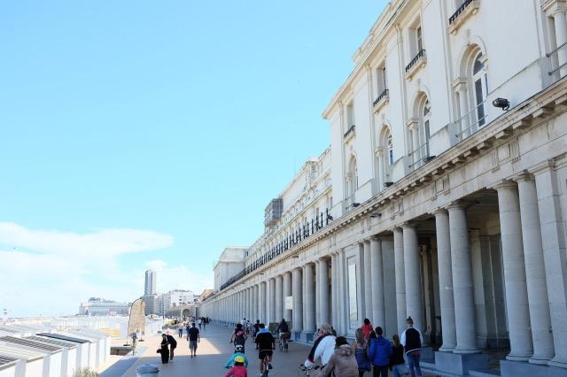 Ostende-promenade-Albert 1er-esplanade-galeries