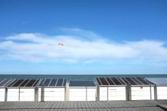Les cabines de la plage d'Ostende