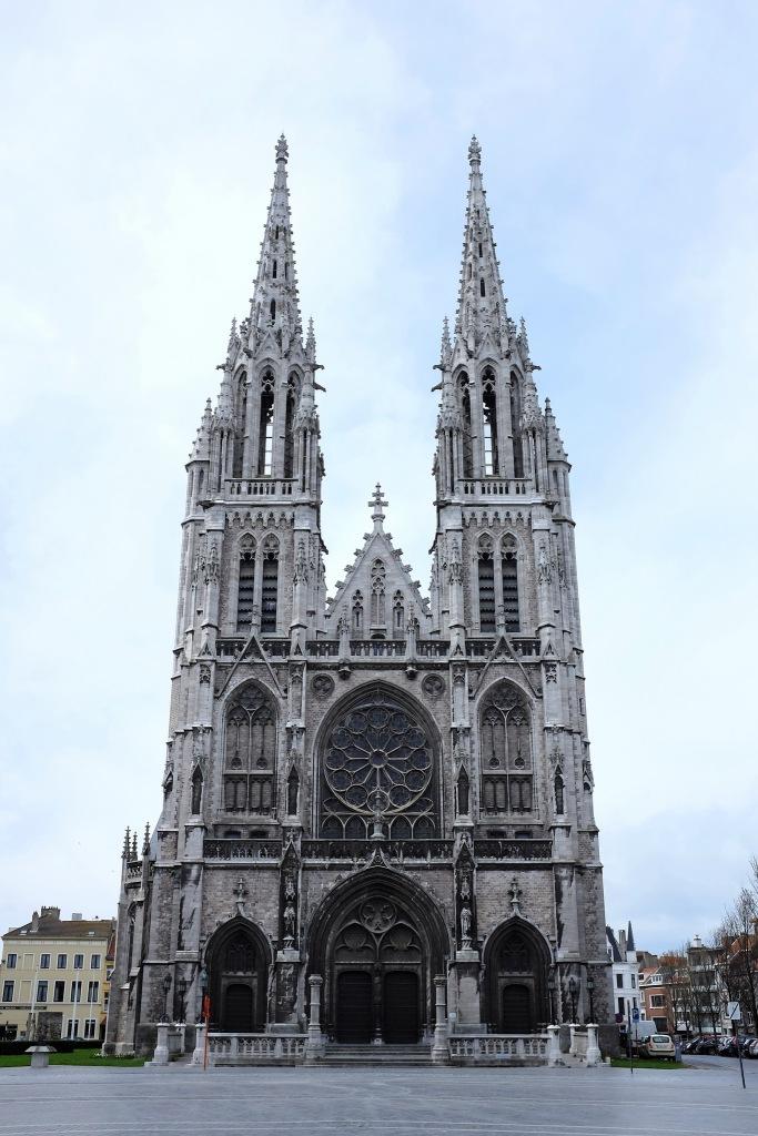 Ostende-église-St Petrus & Paulus-neo-gothique