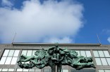 Une statue dans le centre d'Ostende