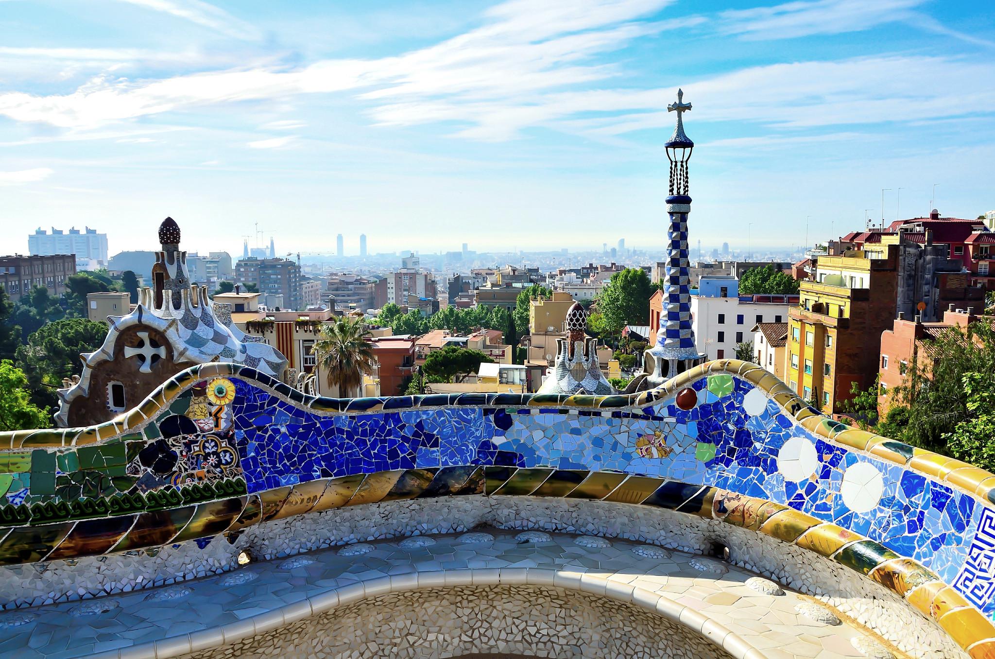 Jardin barcelone gaudi fashion designs for Barcelona jardin gaudi