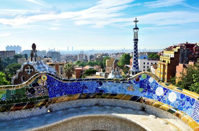Barcelone-Park Güell-Gaudí-Gràcia