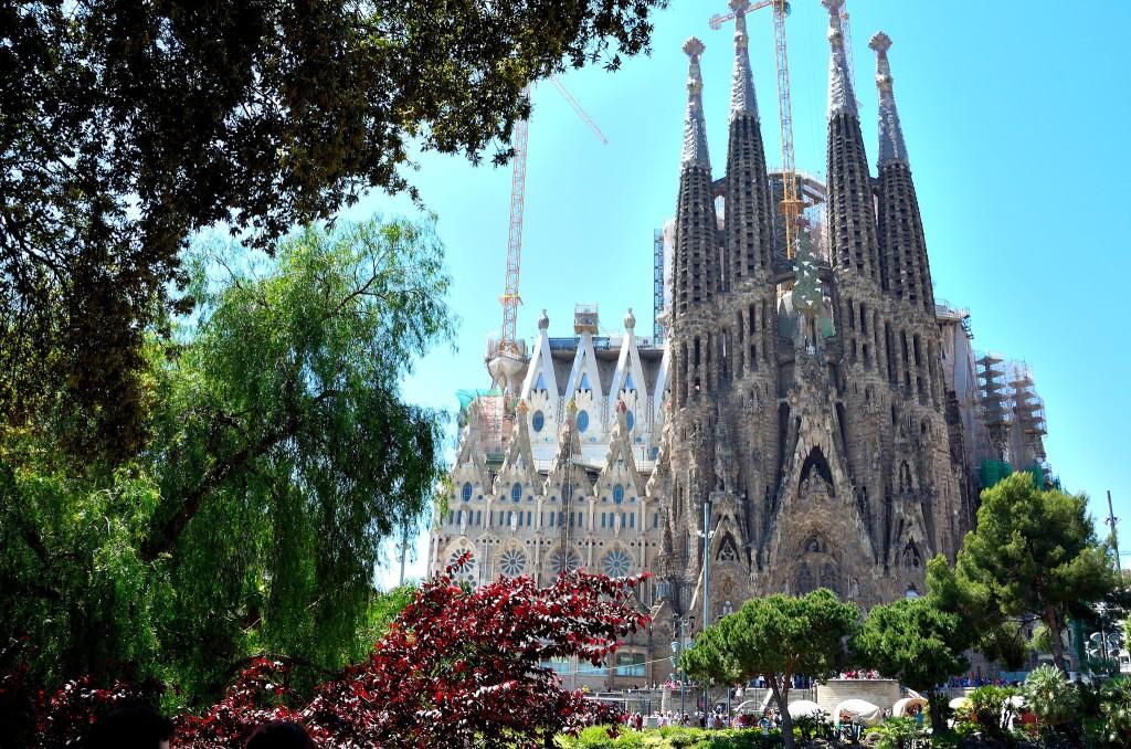Sagrada Família-église-Gaudi-hommage-oeuvre