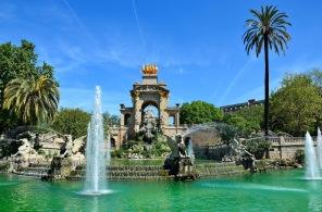 Le Parc de la Ciutadella est situé dans le centre de Barcelone