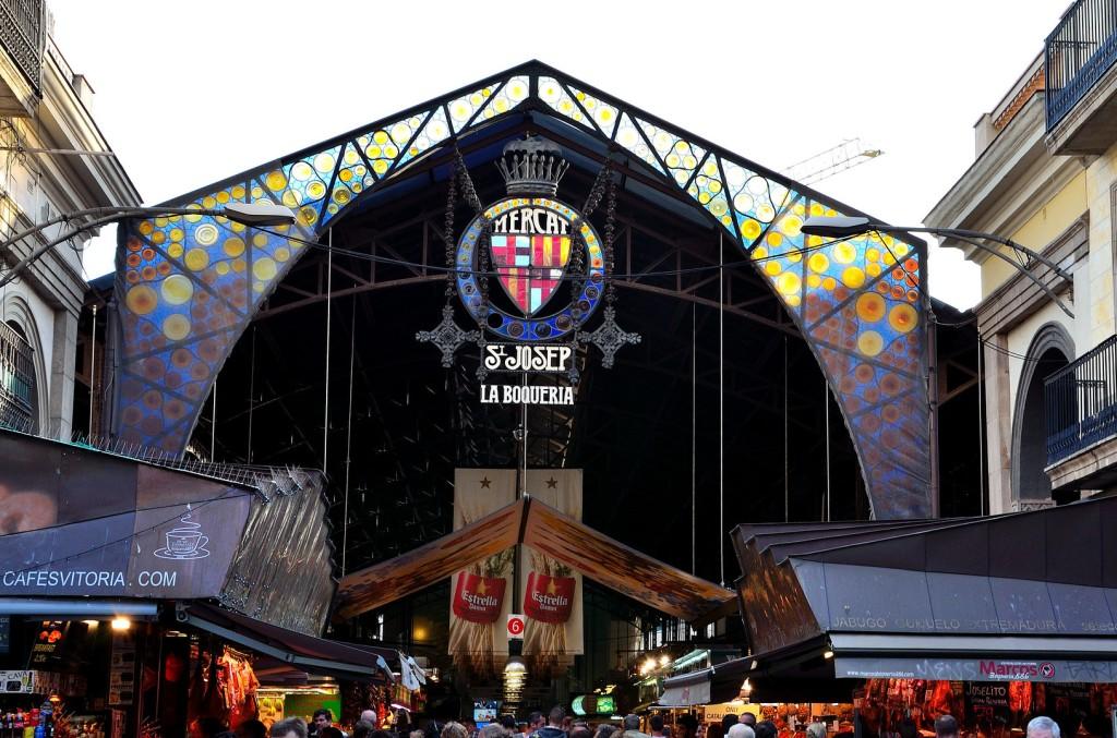 Barcelone-marché-La Boqueria-La Rambla