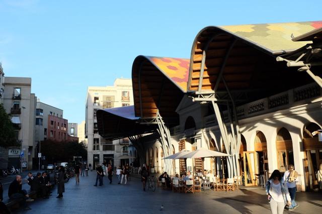 Barcelone-marché-Santa Caterina-Boqueria