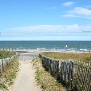 Un chemin ppour relier la plage d'Ostende