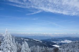 Jura-Mont d'Or-Haut Doubs-montagne-randonnée-paysage-Alpes-neige