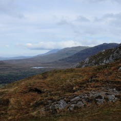 Connemara-parc-comté de Galway-Twelve Bens-montagnes-lande-Diamond Hill
