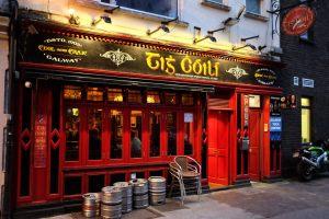 Galway-ville-Irlande-Latin Quarter-pub