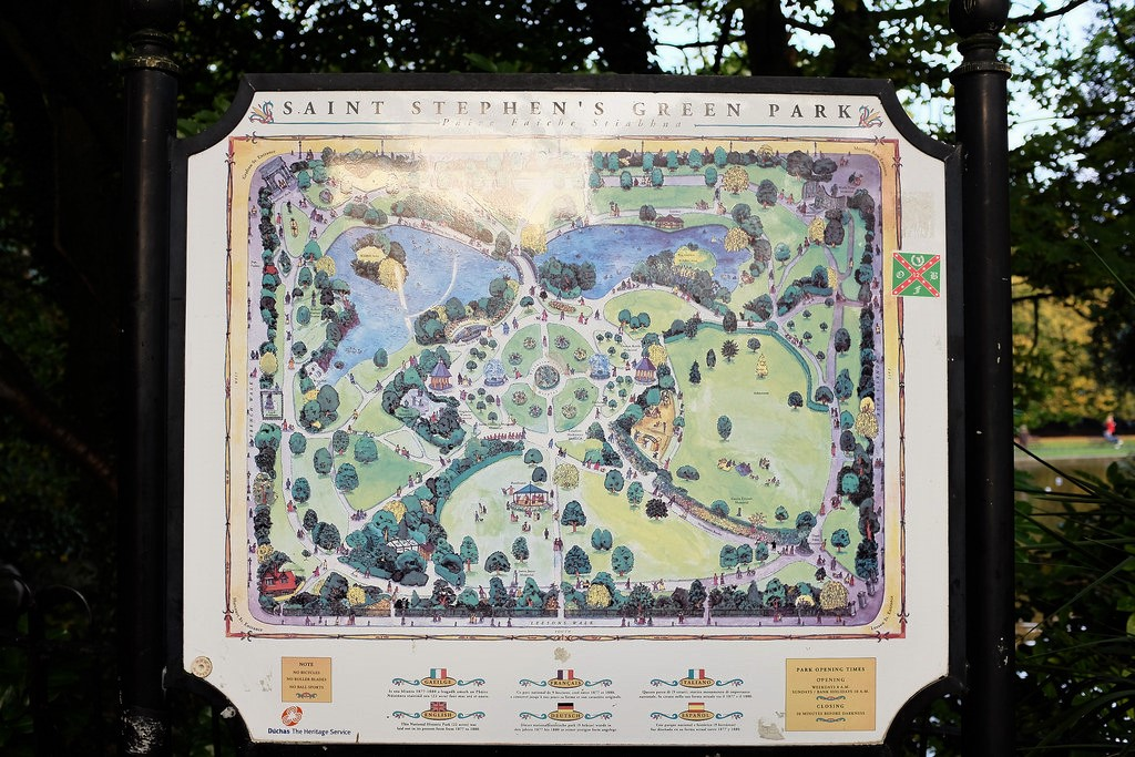 dublin-st-stephens-green-map
