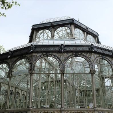 Madrid-Palacio de Cristal-Retiro-parc-palais de cristal