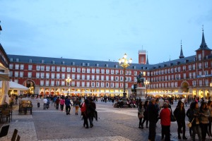 Madrid-Plaza Mayor-Austrias-place
