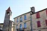Le petit village perché de Belvès au cœur du Périgord