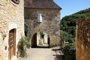 Au cœur du Périgord Noir, le petit village de Castelnaud-la-Chapelle