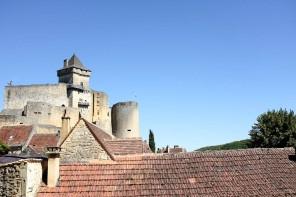 L'imposant château de Castelnaud-la-Chapelle
