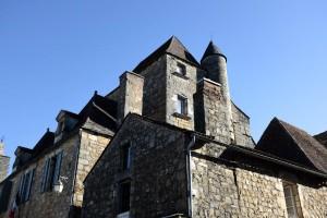 Domme est un village bastide en Dordogne