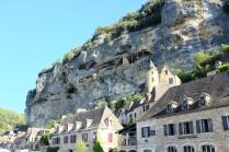 Le célèbre village de La Roque-Gageac en Dordogne