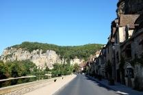 Le village de La Roque-Gageac dans le Périgord